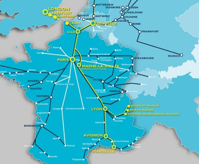 London Connected Eurostar Adds New Routes Throughout