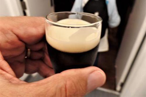 The perfect taste of fresh Guinness Stout.