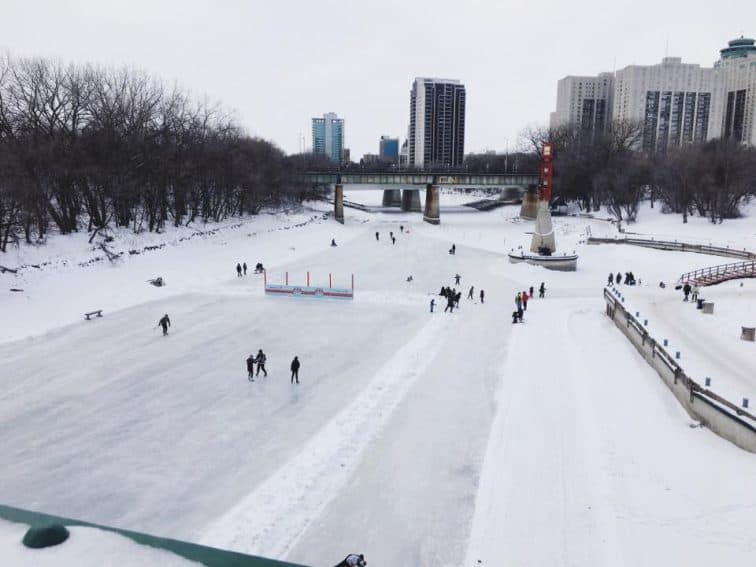 The Red River Mutual Trail at The Forks.