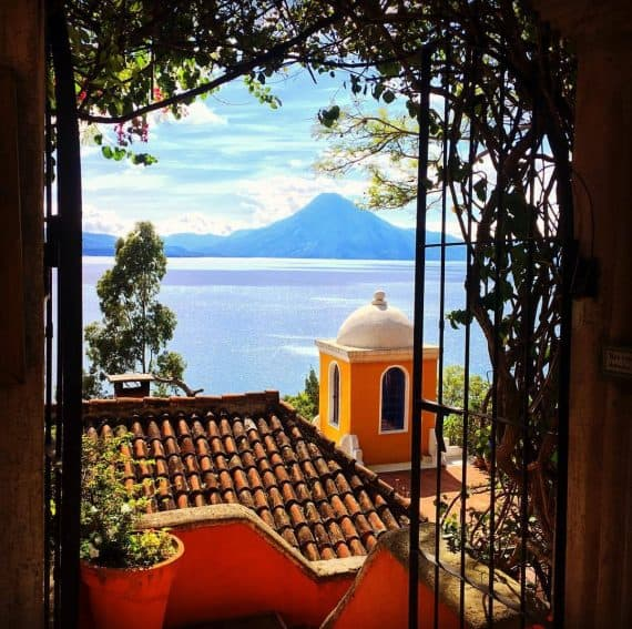Casa Palopó at Lake Atitlán, Guatemala