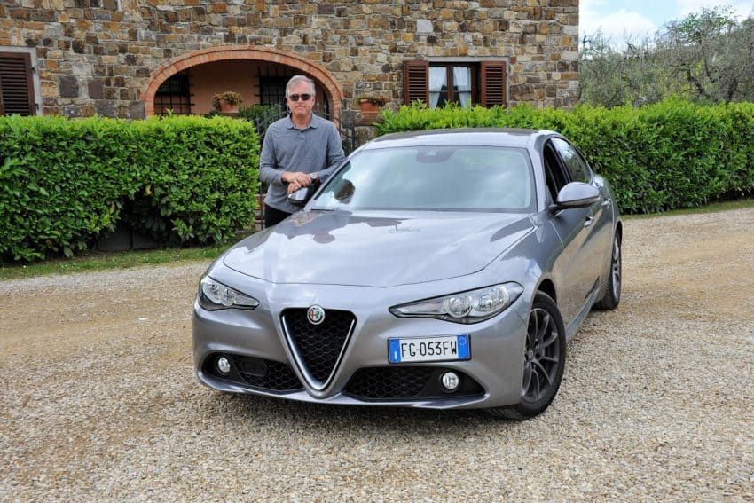 These beautiful roads among vineyards deserve a sporty Alfa Romero! | GoNOMAD Travel