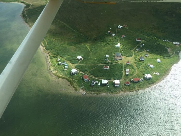 A bird's eye view of Bathurst Inlet in Nunavut. Photo from Max Johnson.   GoNOMAD Travel