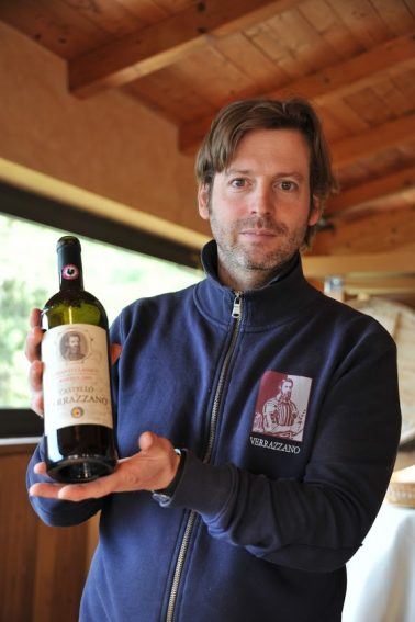 The resident wine expert at Castello di Verrazzano. | GoNOMAD Travel