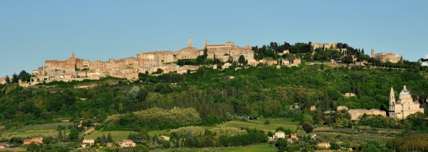 A view of the Italian city of Montepulciano where underground caves are used to age wine. | GoNOMAD Travel