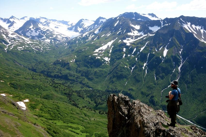 A rock with a view Alaska's Ridgewood Wilderness Lodge: Gateway to Adventure