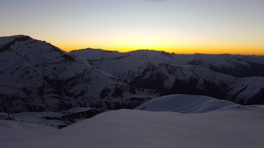 Dawn on Mount Halgurd. Photo by Martin Hefti/Secret Compass.