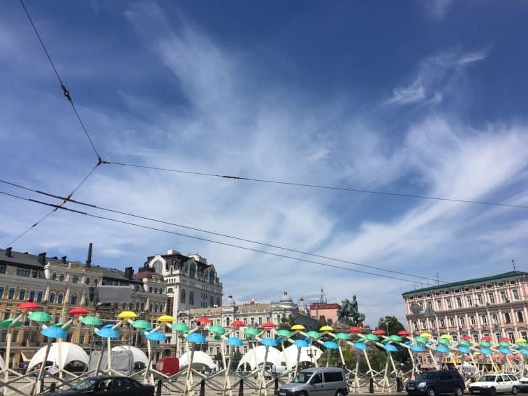 Eurovision Public Art in Kiev.