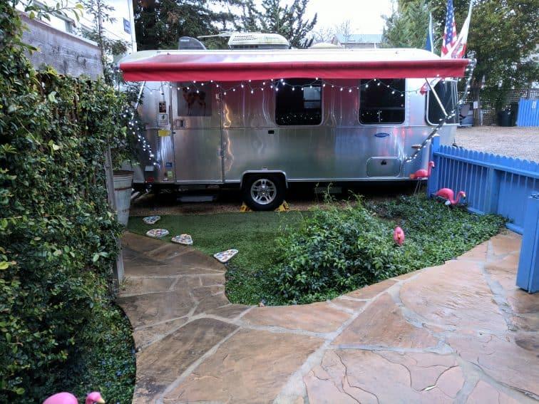 Deluxe Airstream camp trailer Metro Hotel