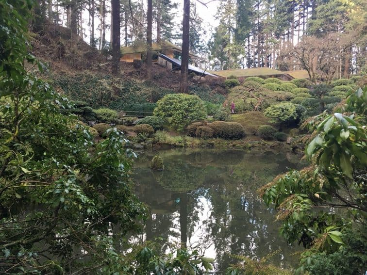 The Japanese Gardens offer tranquility and a peaceful stroll.