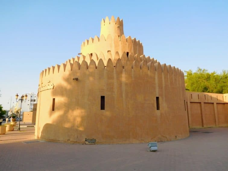 Iconic tiered tower of Al Ain Palace Museum | GoNOMAD Travel