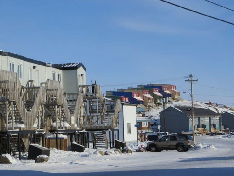 Homes in Iqaluit, the capital of Nunavut. Photo from Max Johnson. | GoNOMAD Travel