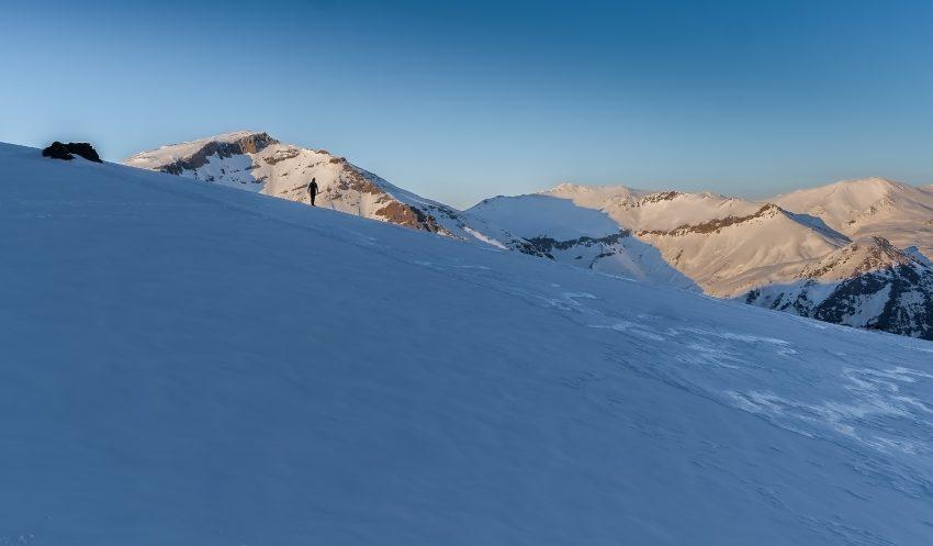 Snowy conditions in Kurdistan. Photo by Martin Hefti/Secret Compass.