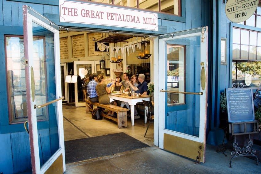 Downtown Petaluma dining Photo courtesy of Petaluma Visitors Program Petaluma