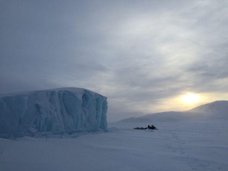 An iceberg in Qikiqtarjuaq, Nunavut. Photo from Max Johnson.   GoNOMAD Travel