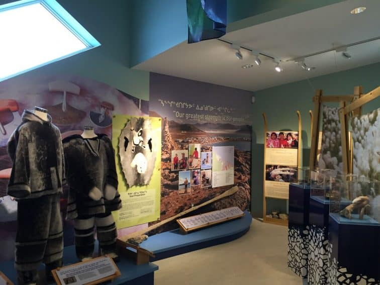 Traditional clothing featured in the Gathering Centre in Qikiqtarjuaq, Nunavut. Photo from Max Johnson. | GoNOMAD Travel