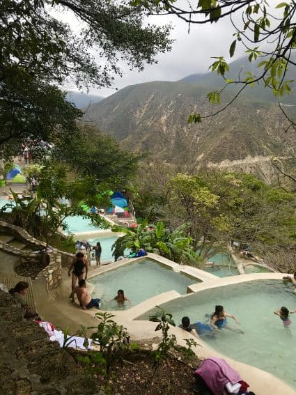 Relaxing and soaking my way down the mountainside as I shared a slice of Mexican heaven with the locals at Tolantongo. | GoNOMAD Travel