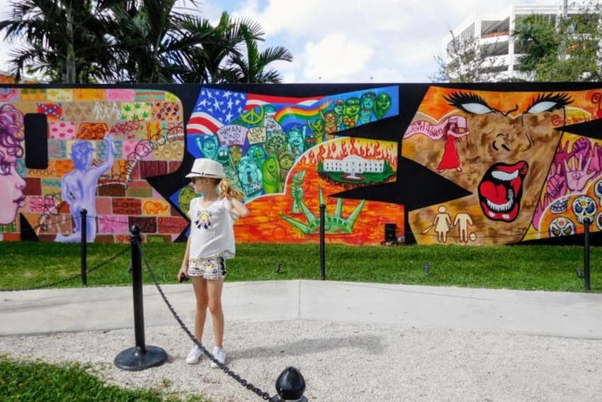"The old Wynwood area was once a dilapidated industrial and warehouse district; today it is trendy and one of the world's greatest outdoor street museums, showcasing graffiti art created by some of the best ""writers"" in the world."