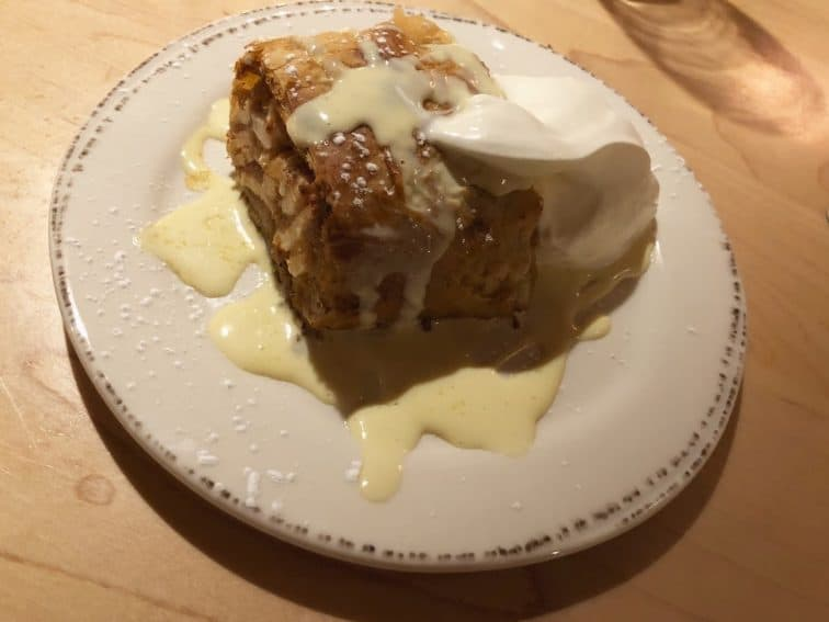 Apple Strudel at Trapps.