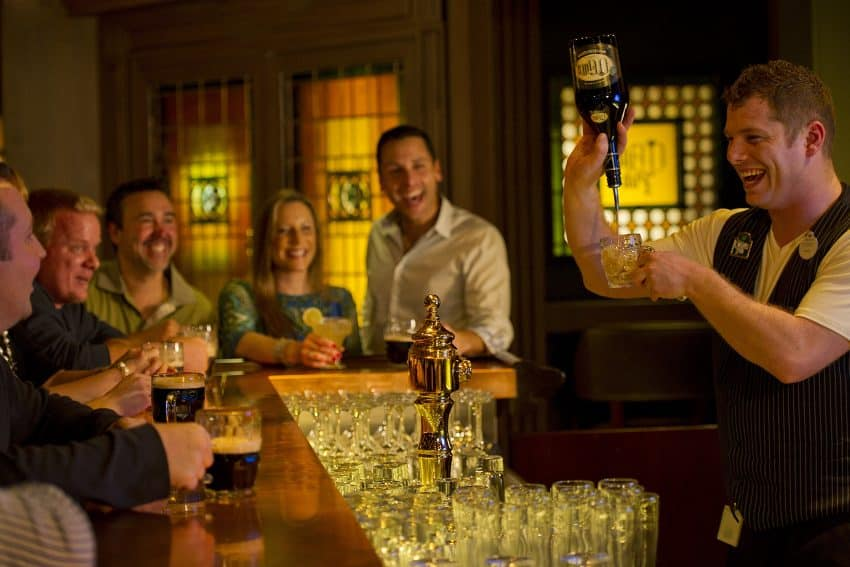 O'Gills Pub on the Disney Fantasy is exclusive for adult guests. Photo by Matt Stroshane. | GoNOMAD Travel