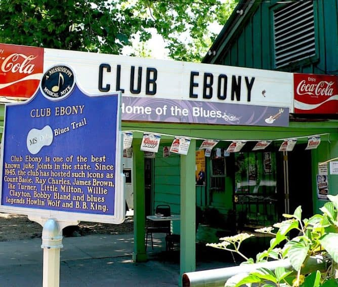 A street over from the museum, Club Ebony is where B.B. King once played.
