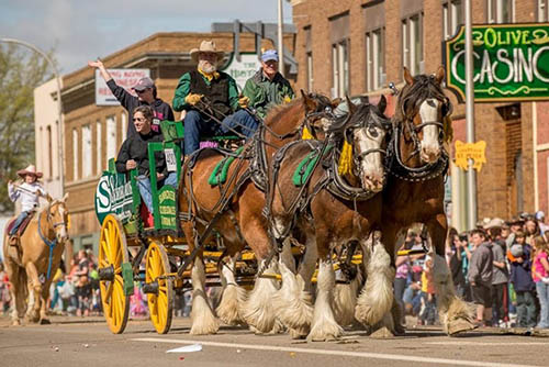 Saturday morning kicks off with an epic Western parade that is definitely worth getting out of bed for. Donnie Sexton photos.