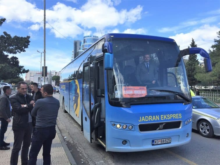 Durres to Podgorica - The Bus