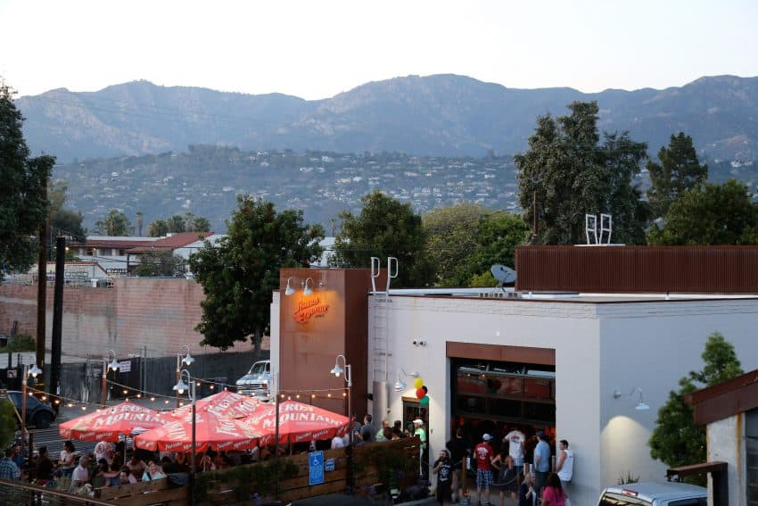 Figueroa Mountain Brewing Co. in the Funk Zone. Photo by Jesse Natale, Courtesy of Visit Santa Barbara.