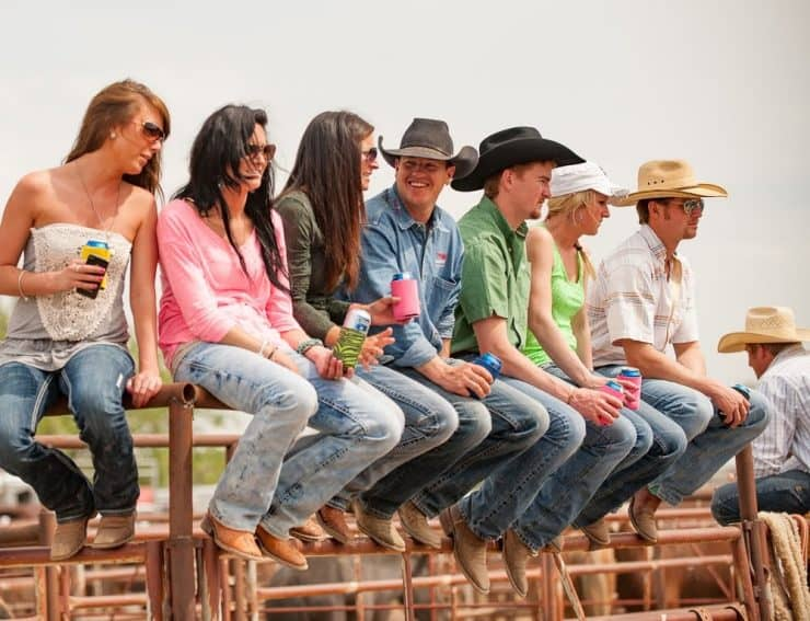 This group of kids grew up together but went separate ways with college. The Bucking Horse Sale is a great venue for them to reconnect.