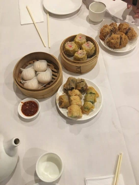 Some Dim Sum Delicacies. Photo Jackie Cohen