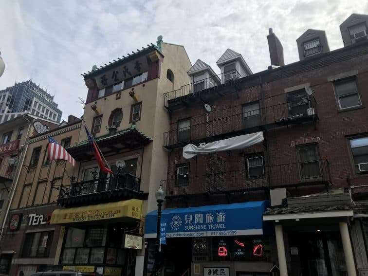 Shops of Chinatown