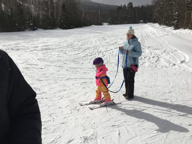 Kids slope at Waterville Valley.