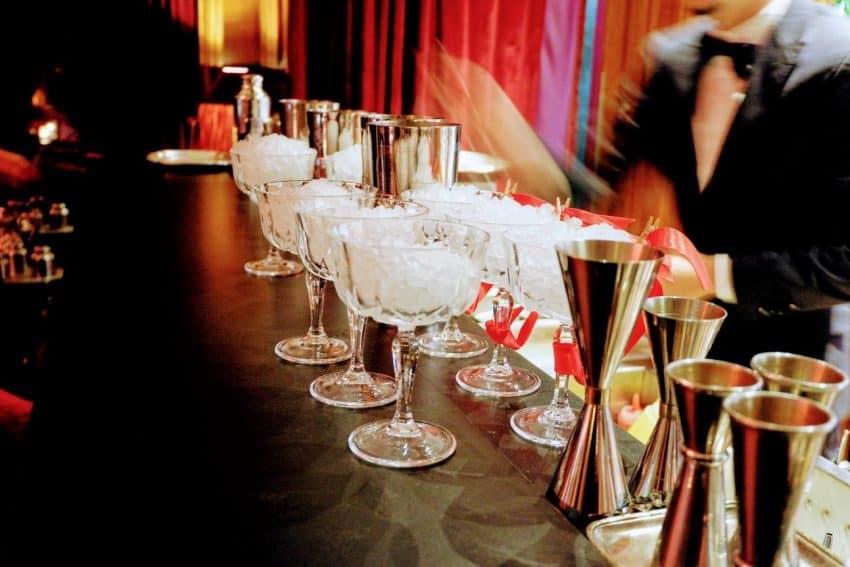 Maison Souquet Bar Action inside Salon des Petits Bonheurs.