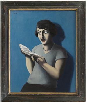 René Magritte, The Subjugated Reader, 1928