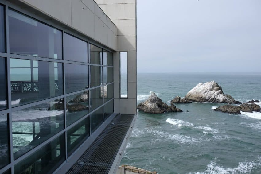 Seal Rocks view at Cliff House