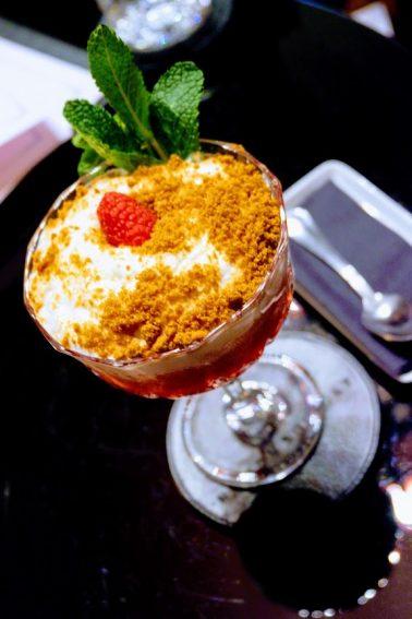 Souquet's popular Raspberry Pie cocktail.