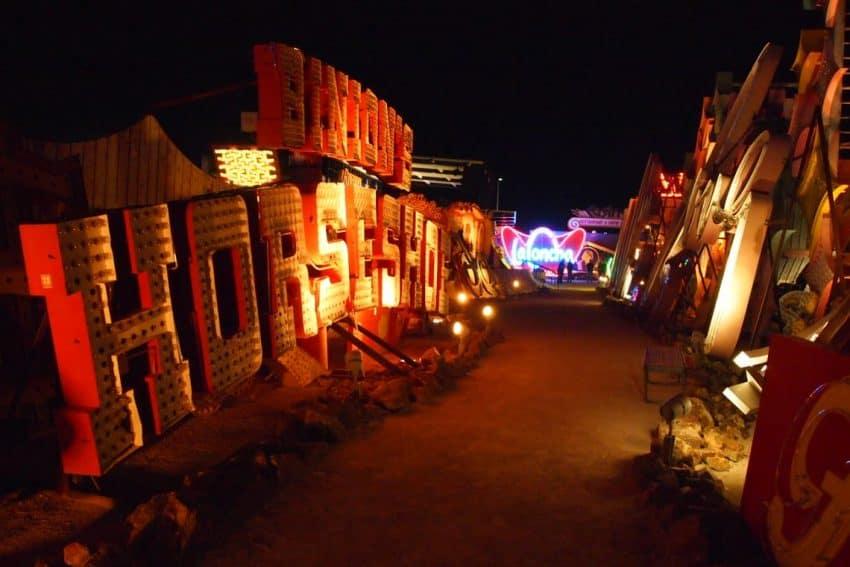 Las Vegas signs get a new life at the Neon Boneyard.