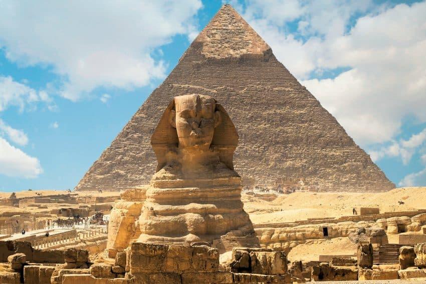 The Great Pyramids, Egypt. Photo courtesy of Kara Thornton.