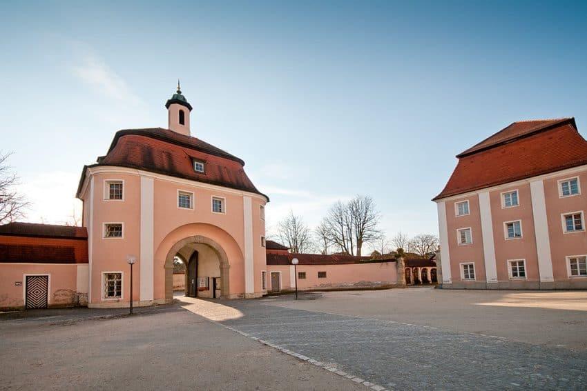 The Monastery gate at Wiblingen. Arno Kohlem photo. | GoNOMAD Travel
