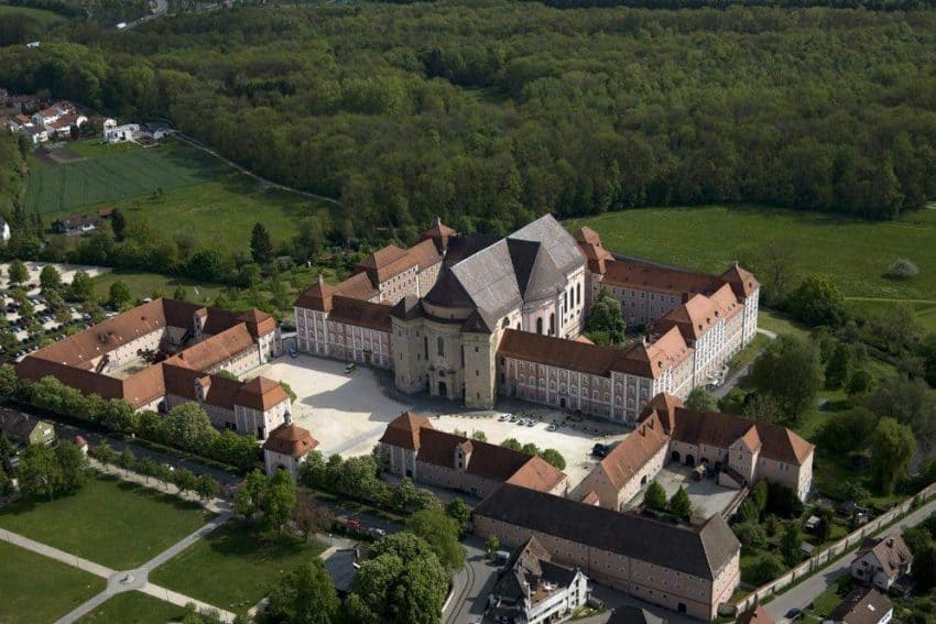Overhead view of Wiblingen Abbey | GoNOMAD Travel