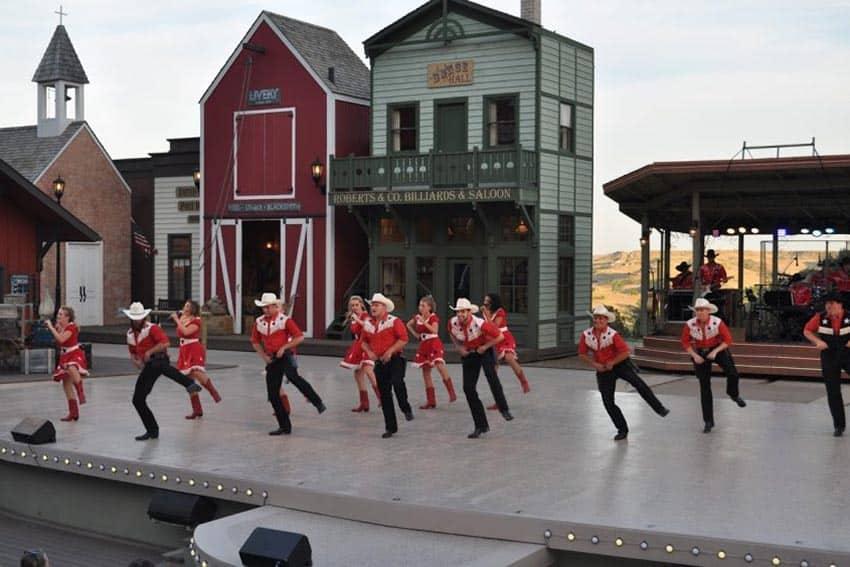 Burning Hill Singers in the Medora Musical