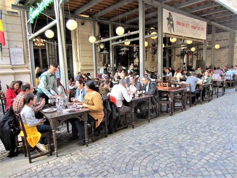 Caru cu bere - famous restaurant and beer hall in Bucharest | GoNOMAD Travel
