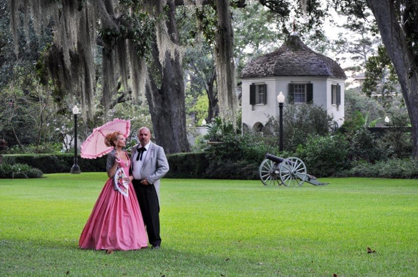 An Easter Stroll around the well-cared for grounds of the Houmas House Plantation.