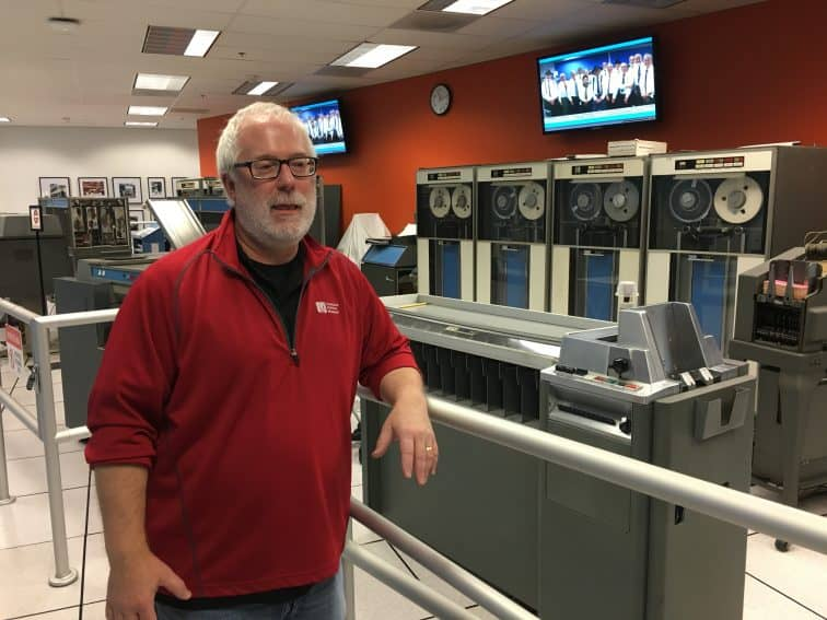 Jim Somers, Museums services director at the Computer Museum in Mountain View, California. | GoNOMAD Travel