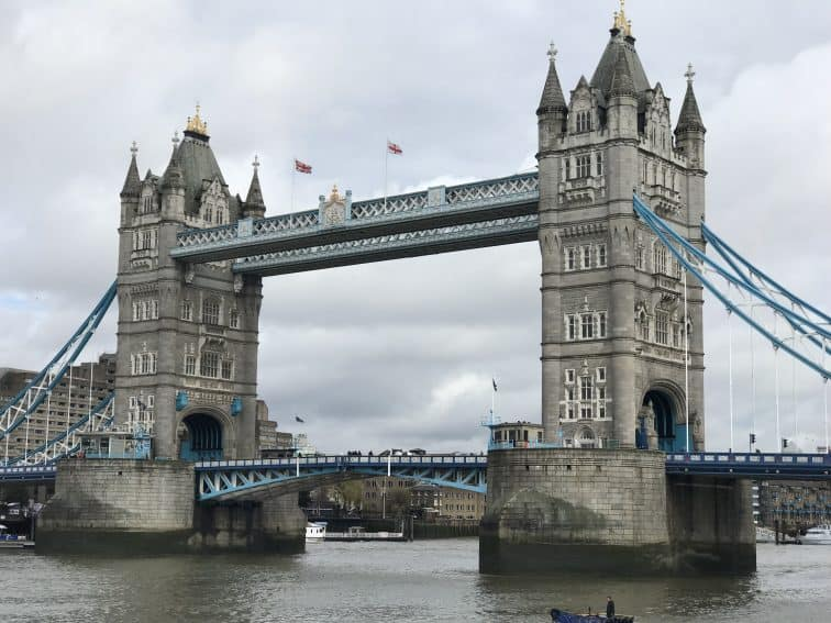 London Tower Bridge.