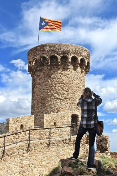 Lookouts once scanned the waves for signs of pirates from this tower in the costal community of Tossa de Mar.