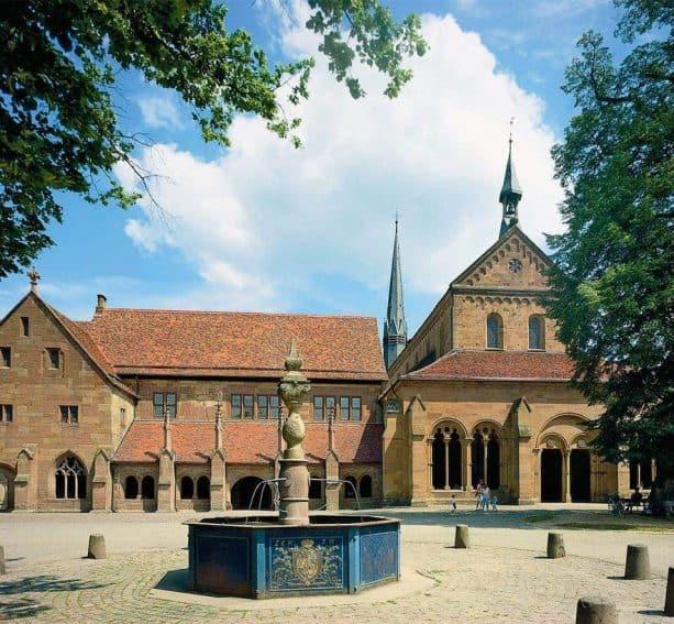 Maulbronn Monastery in Southwestern Germany. Staatliche Schlosser und Garten Baden-Wurttemberg Harry Keller photo. | GoNOMAD Travel