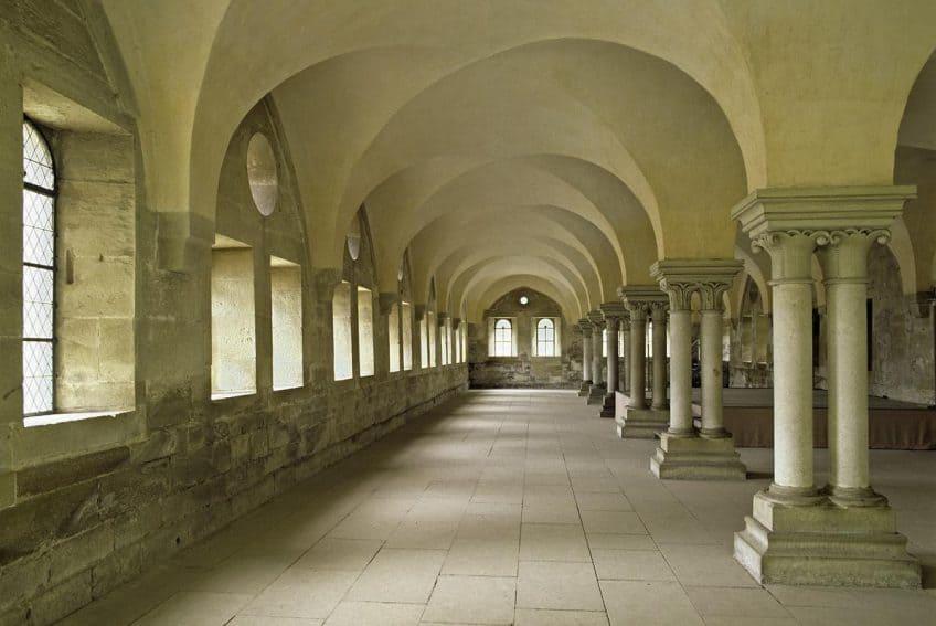 The vast Refectory at Maulbronn Monastery. Landesmedienzentrum Baden-Württemberg/Steffen Hauswirth photo | GoNOMAD Travel