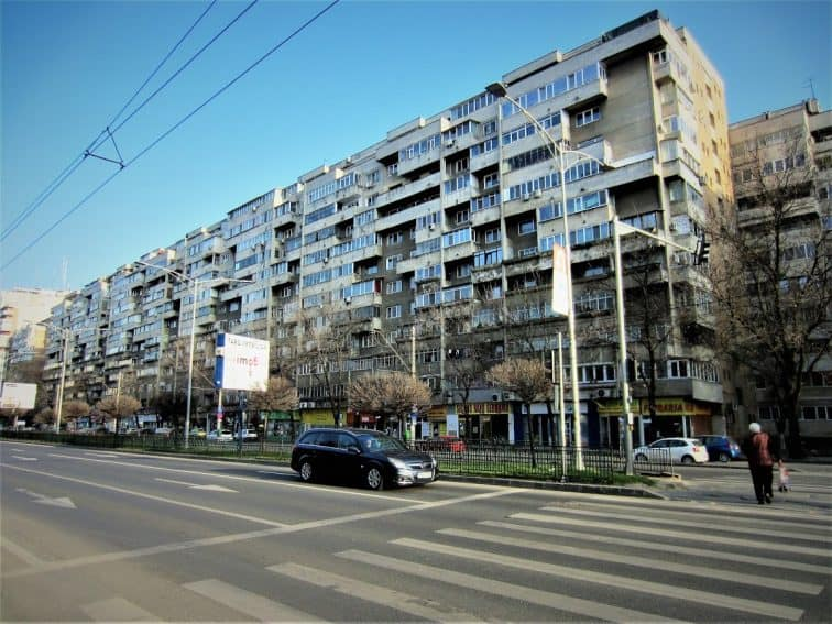Soviet-era residential apartments in the city | GoNOMAD Travel