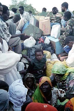 A truckload in Sudan