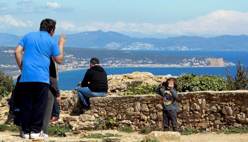 The castle of Begur is impossible to miss as the town itself hugs its steep slopes. On a clear day, the vistas from the top are well worth the gradual climb up.
